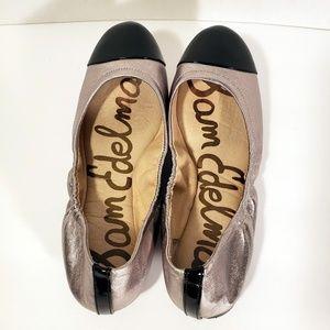 "Sam Edelman | Ballerina Flats ""Baxton"" Gold Black"